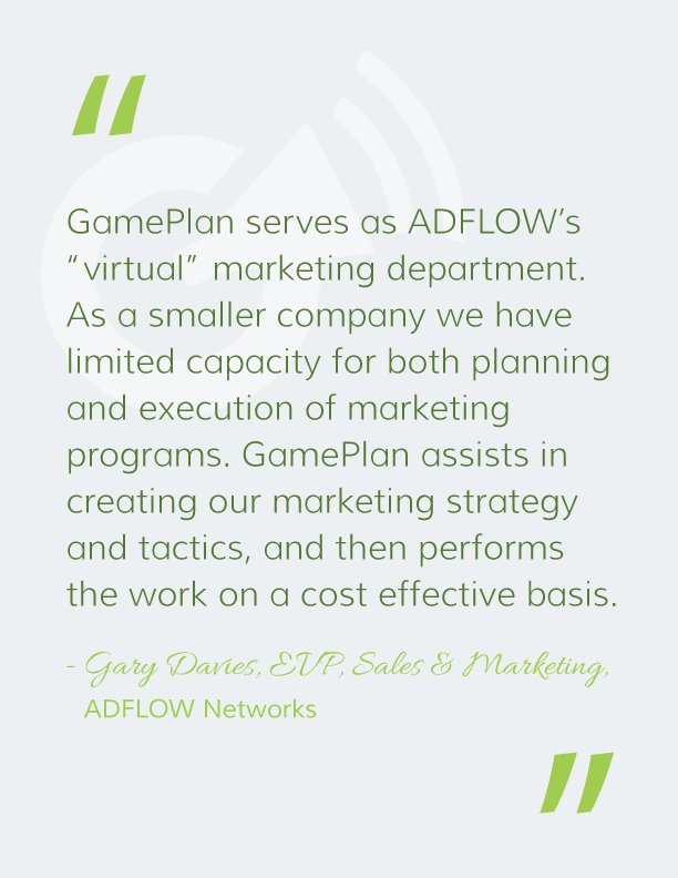 ADFLOW GamePlan Quote