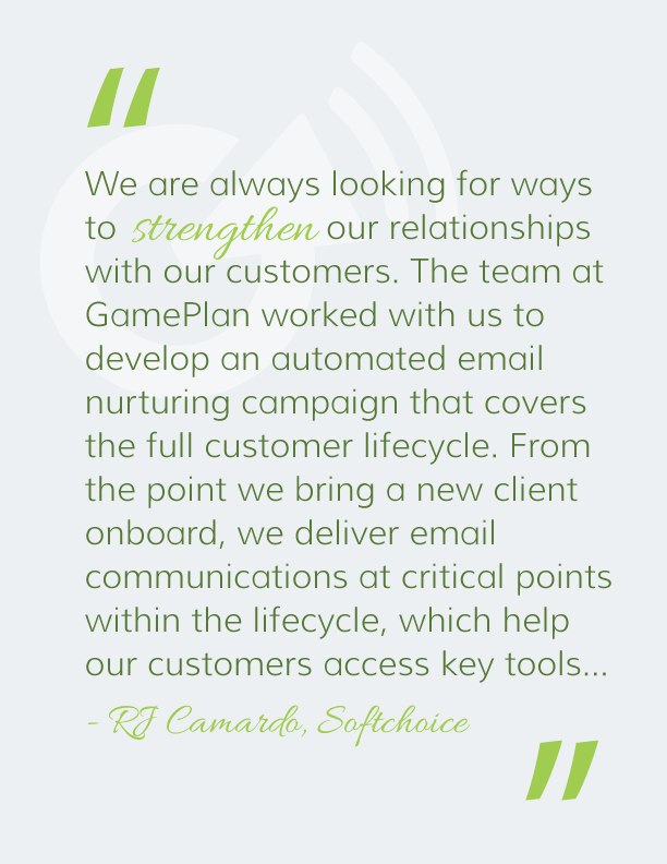 GamePlan Client Quote